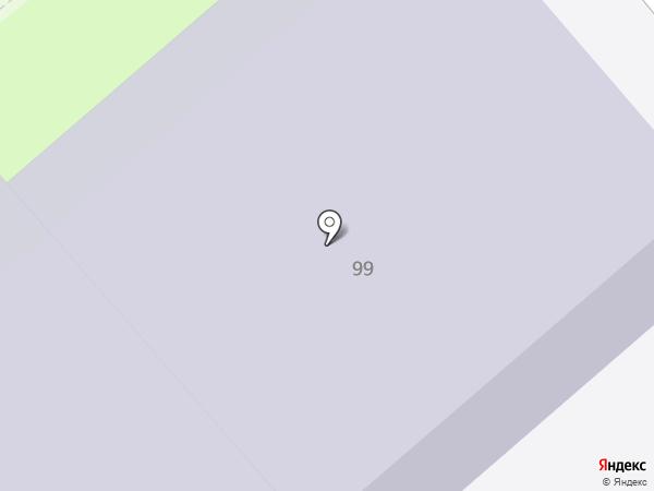 Средняя общеобразовательная школа №23 на карте Вологды