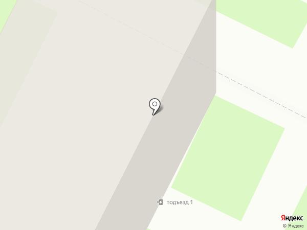 Дружба, ТСЖ на карте Вологды