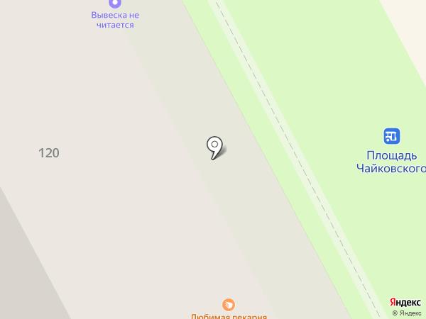 Енот на карте Вологды