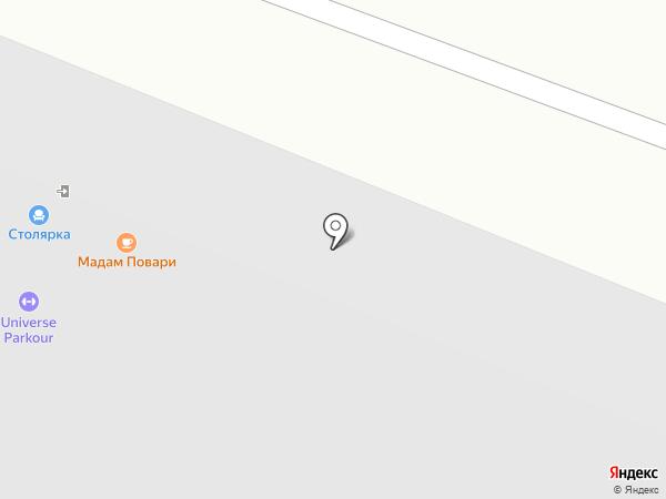 Вологодский деревообрабатывающий завод на карте Вологды