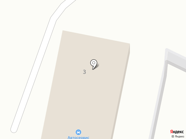 Пункт автосервиса на карте Большого Лога