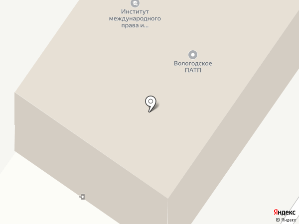 Футурика на карте Вологды