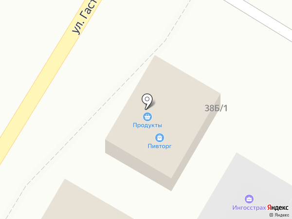 Малярка №1 на карте Сочи