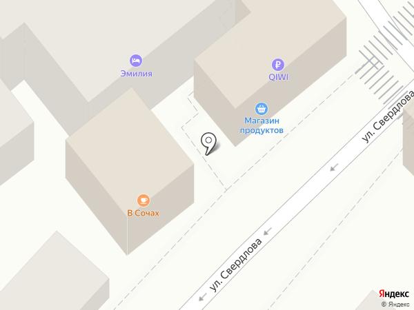 Емием на карте Сочи