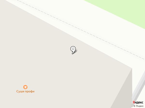 Суши Профи на карте Вологды