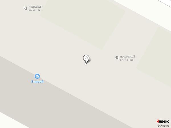 ЕНИСЕЙ на карте Вологды