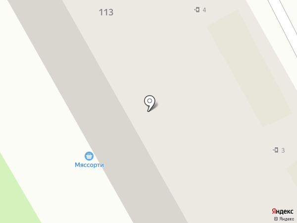 Бургер Тайм на карте Вологды