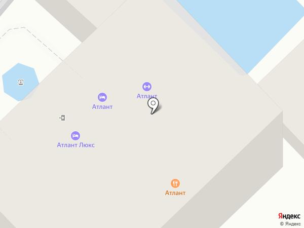 Атлант на карте Сочи