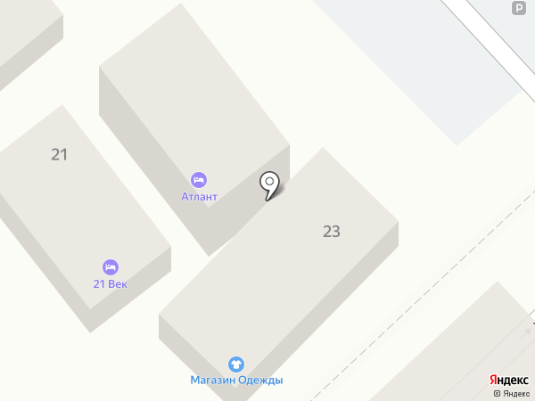 21 век на карте Сочи