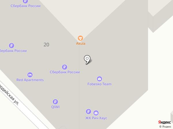 Atlant House на карте Сочи