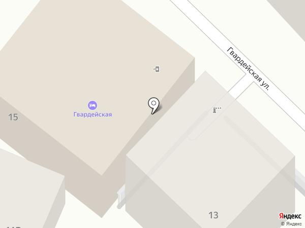 В гостях у Джули на карте Сочи