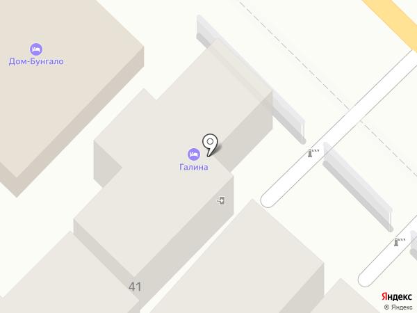 Галина на карте Сочи