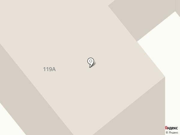 Рубеж на карте Вологды