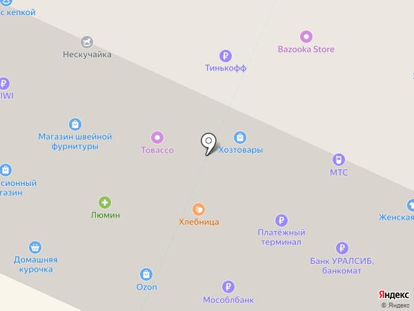 Нескучайка на карте Вологды