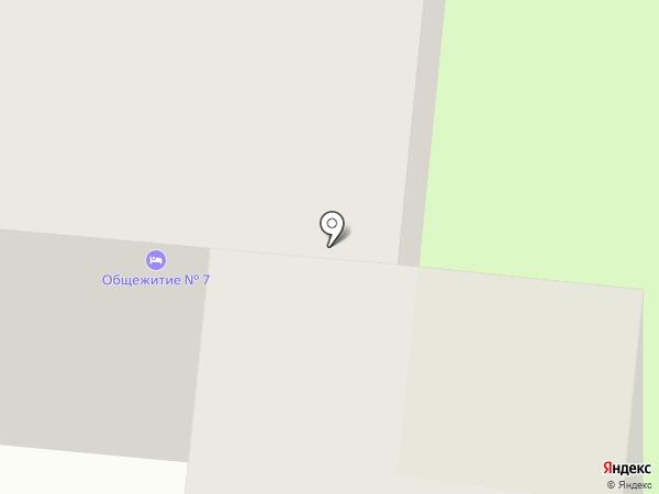 Общежитие на карте Вологды