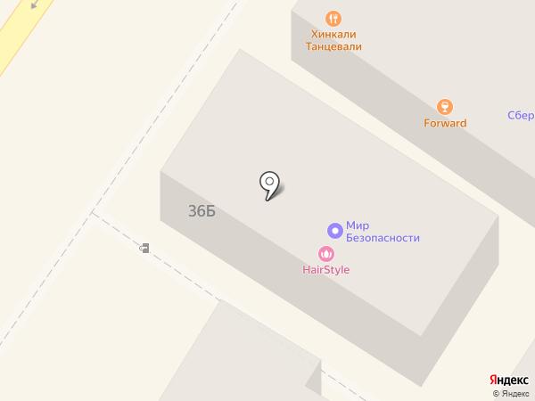 Квадрат на карте Сочи