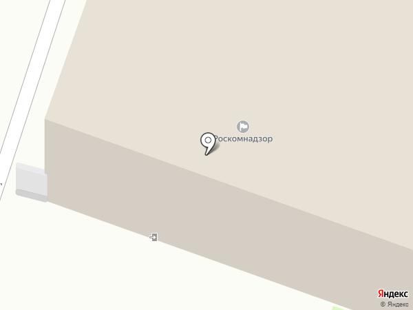 Управление Федеральной службы по надзору в сфере связи, информационных технологий и массовых коммуникаций по Вологодской области на карте Вологды