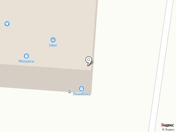 Миниатюрная ножка на карте Вологды