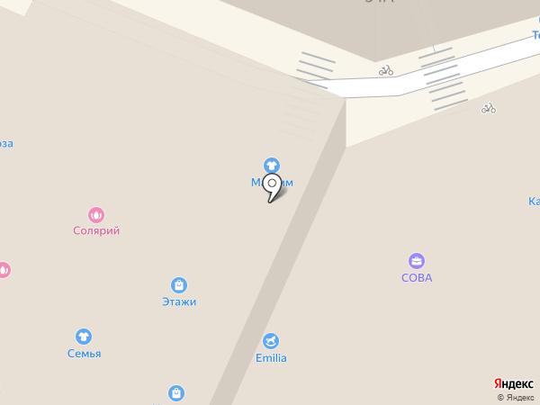 Танюшка на карте Сочи
