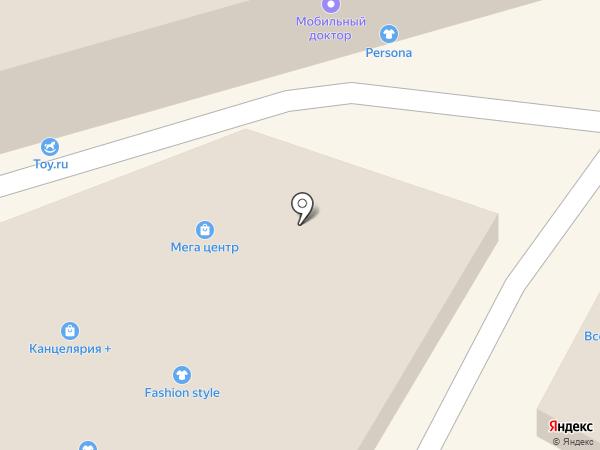 Национальный Комфорт на карте Сочи