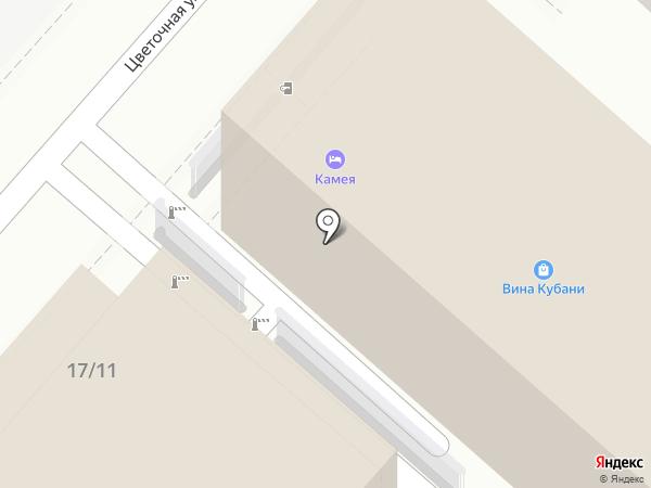 Грифон на карте Сочи