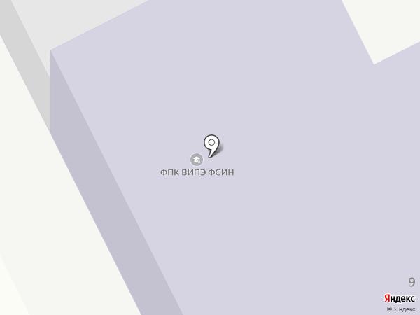 ВИПЭ на карте Вологды