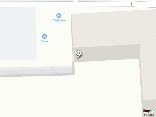 Везёт на карте Сочи