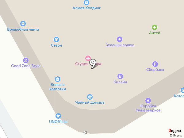 SunCity на карте Вологды