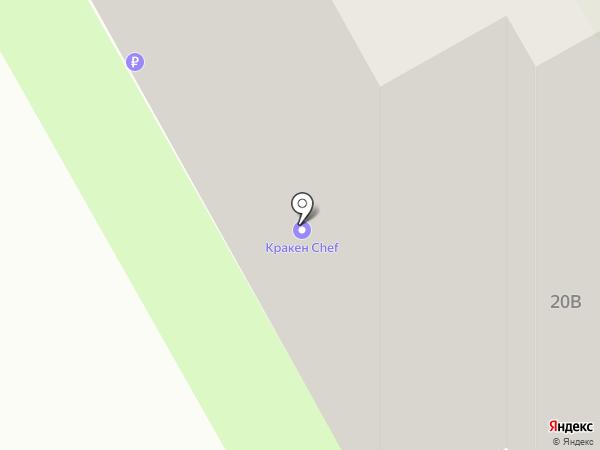 Вологодская корзинка на карте Вологды