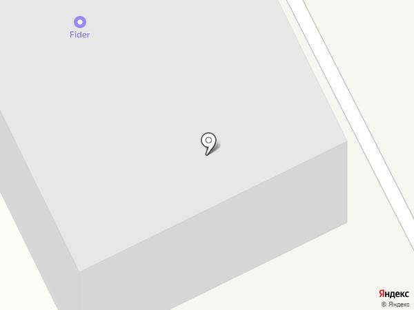 Фидер на карте Вологды