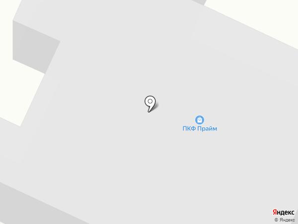 Метако на карте Вологды