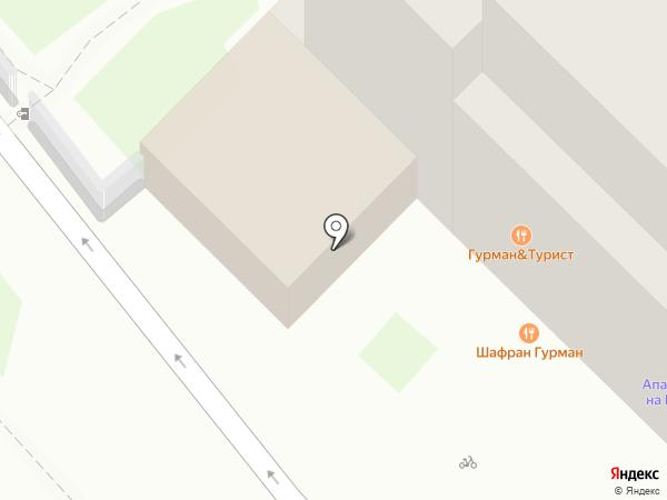 Мята на карте Сочи