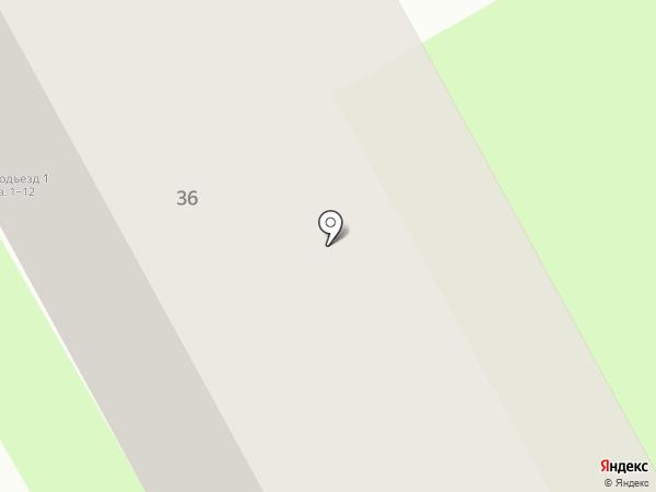 Конфетти на карте Вологды