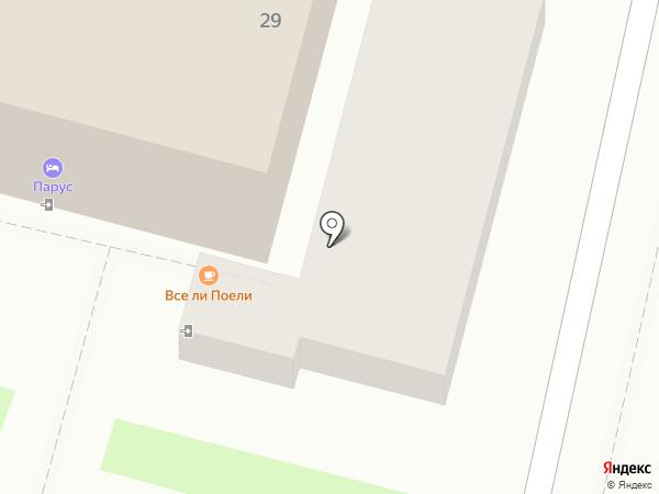 Ковбой на карте Сочи