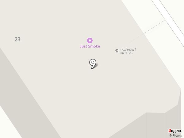 Клякса на карте Ярославля
