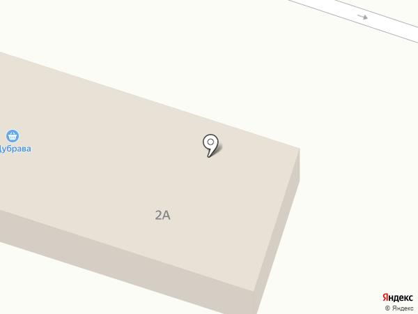Лесок на карте Листвянки