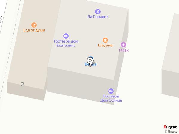 Манэ на карте Сочи