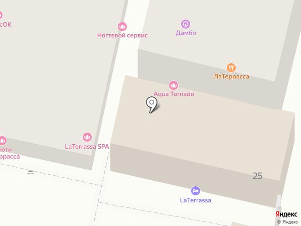 Спорт-бар на карте Сочи