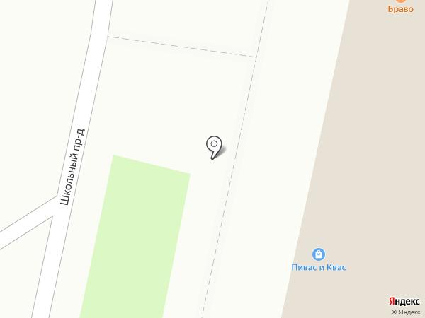 Браво на карте Ярославля