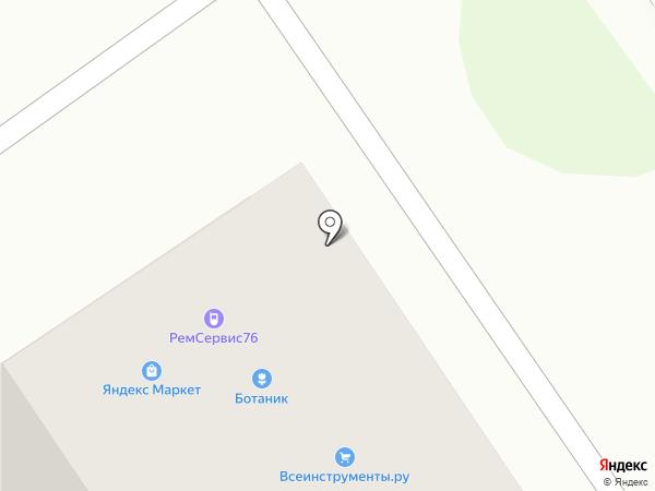Даринка на карте Ярославля