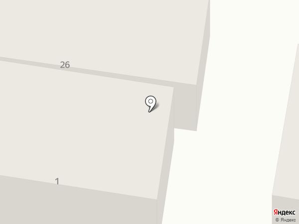 Гостиница на карте Сочи