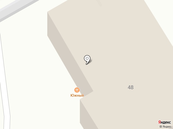 Южное на карте Сочи