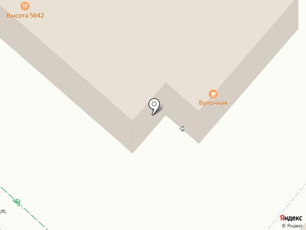Высота 5642 на карте Сочи