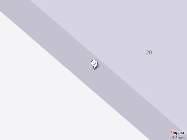 Средняя общеобразовательная школа №19 на карте Вологды