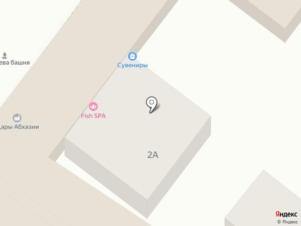 Имбирь на карте Сочи