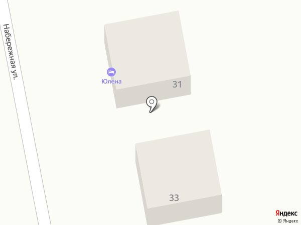 Юлена на карте Каменномостского
