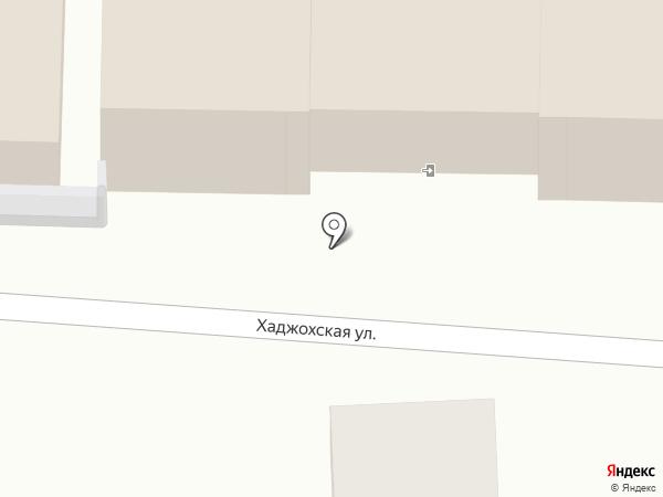 Терем у реки на карте Каменномостского