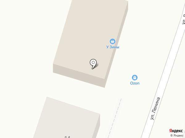 У Зины на карте Каменномостского