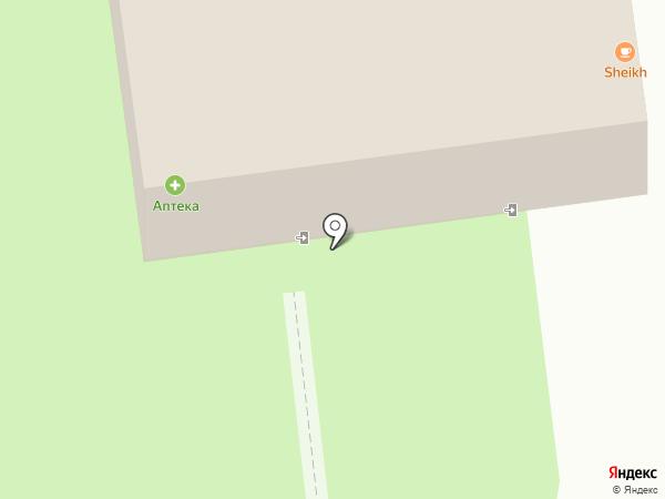 Горница на карте Каменномостского