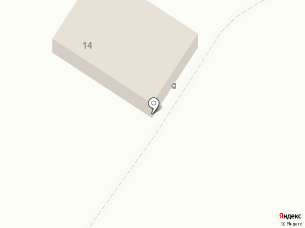 Автокомплекс на карте Каменномостского